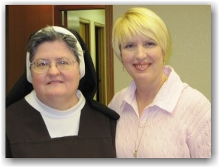 Sister Donna and Robin